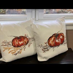 Art-print throw pillows by Kelly Lane Art